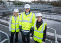 Official opening event at Inverurie Waste Water Treatment Works by Mairi Gougeon MSP, Minister for Rural Affairs and the Natural Environment.