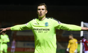 Staggies linked with loan move for Hibs striker Shaw