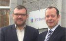 Jonathan Nesbitt (left) and Graeme Nisbet of FG Burnett.