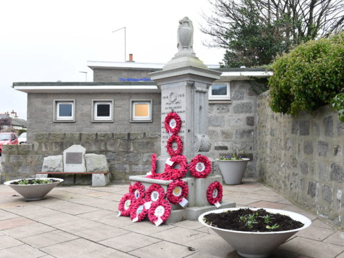 The Bridge of Don War Memorial. Picture by Paul Glendell