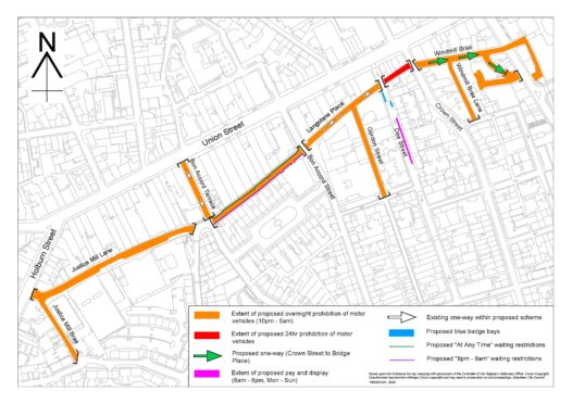 Have your say on proposed overnight vehicle ban for Aberdeen streets | Press and Journal