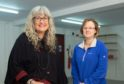 L-R: Scheme Manager Mhairi Philip and Tracey Skene (Chairwoman of Fundraising Committee). Picture by Jason Hedges.