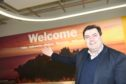 Steve Szalay Aberdeen international airport manager .Picture by Paul Glendell