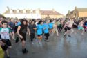 Stonehaven Nippy Dip 2019. Picture by COLIN RENNIE