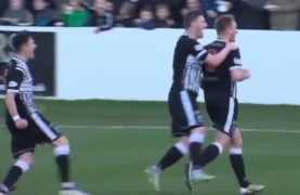 VIDEO: On this day in 2017, Caley Thistle triumphed in a stormy cup tie at Elgin