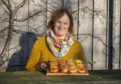 Owner Laurel Foreman at Wark Farm's newly refurbished kitchen and butchery near Cushnie, Alford. Picture by Julia Sidell