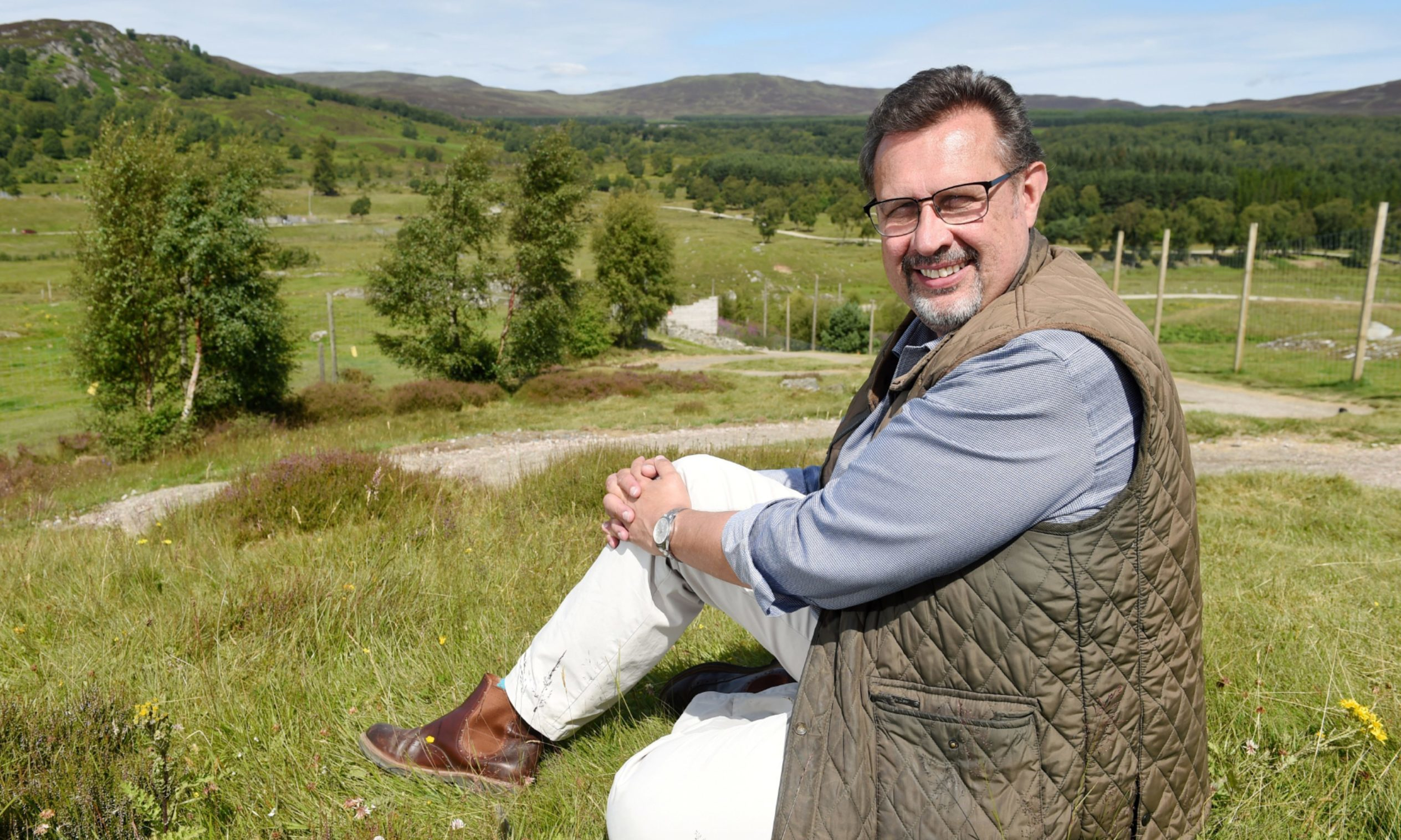 'Once in a lifetime' offer will help fund new wildlife centre in Cairngorms
