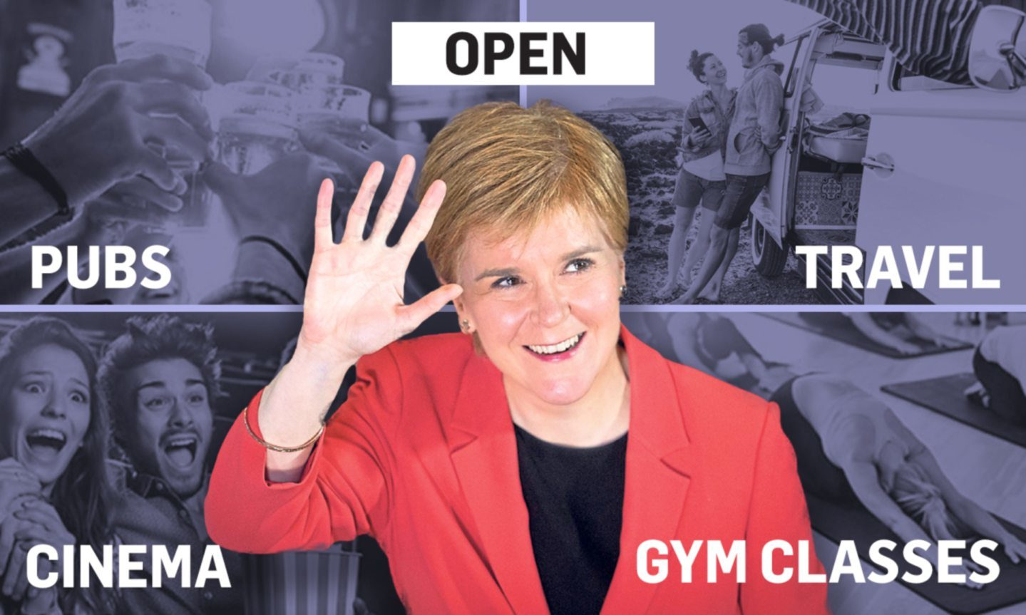 Sturgeon to confirm further relaxation of Covid rulesDCT Media Logo