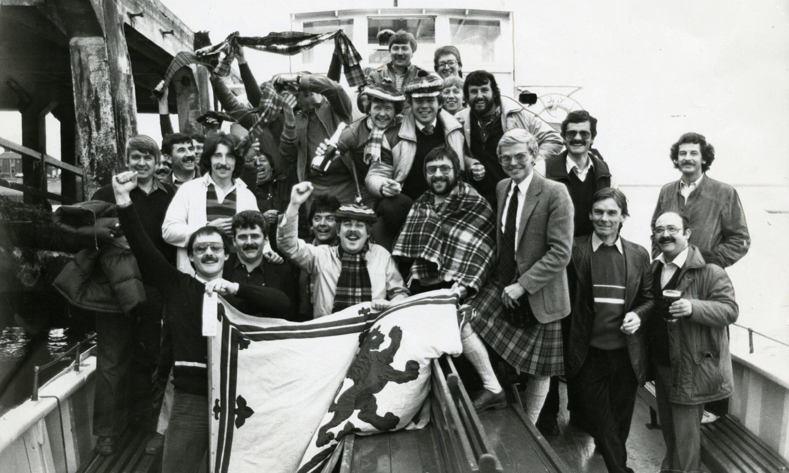 Tartan Army's antics at Scotland's big tournamentsDCT Media Logo