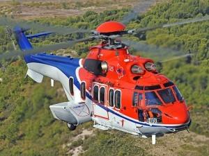 A Super Puma EC225 operated by CHC Scotia.