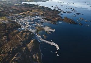 Nyhamna gas plant, Norway