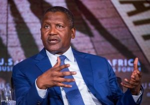 Aliko Dangote, Africa's richest man, stated he prays for a low oil price.